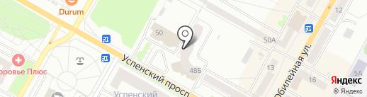 Скат-сервис на карте Верхней Пышмы