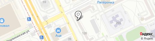 Алессандро на карте Екатеринбурга