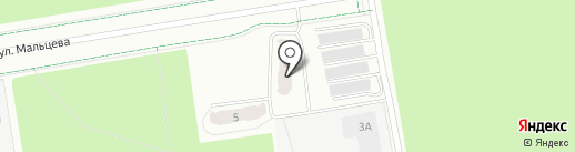 Гранд-Жил-Строй на карте Верхней Пышмы