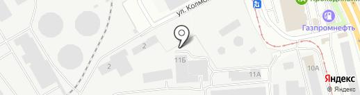 КОМПАС-С ЕКАТЕРИНБУРГ на карте Екатеринбурга