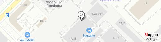 Бекар на карте Екатеринбурга