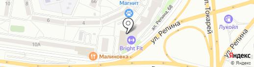 УРАЛМЕТКОН на карте Екатеринбурга