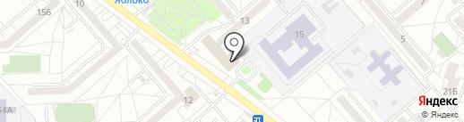 Майкробот на карте Екатеринбурга