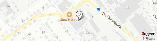 Радтехмаш, ЗАО на карте Верхней Пышмы