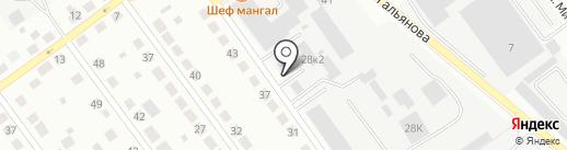 Прибор Сервис на карте Верхней Пышмы