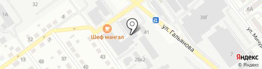 Сауна на карте Верхней Пышмы