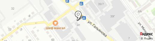 Админ-Сервис на карте Верхней Пышмы