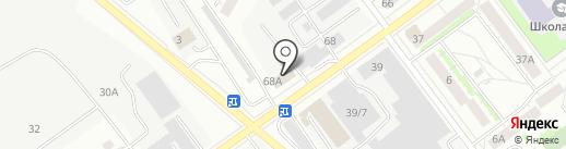 Магазин женской одежды на карте Верхней Пышмы