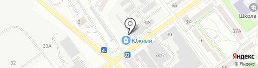 Банкомат, Уральский банк Сбербанка России на карте Верхней Пышмы