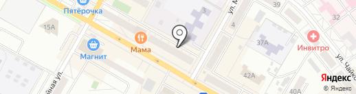 Адвокатский кабинет Первушиной О.Н. на карте Верхней Пышмы
