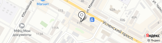 Банкомат, Банк Москвы на карте Верхней Пышмы