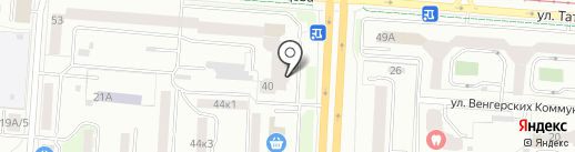 ССК на карте Екатеринбурга