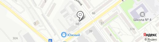 Магазин мужской и женской одежды на карте Верхней Пышмы
