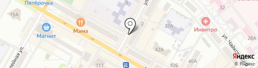 Магазин электротоваров на карте Верхней Пышмы