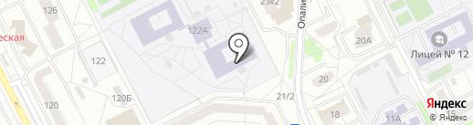 Rose Dance на карте Екатеринбурга