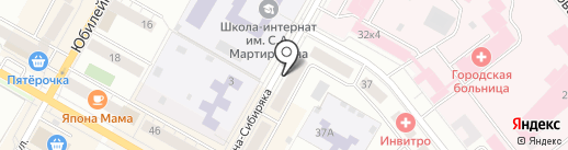 Ариант на карте Верхней Пышмы