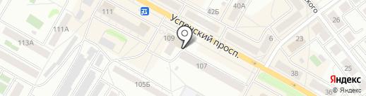 Ин-Ком на карте Верхней Пышмы
