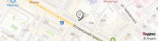 ПрофКомплект+ на карте Верхней Пышмы