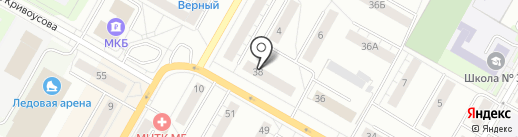 Центр правовой поддержки на карте Верхней Пышмы