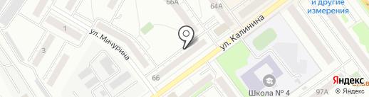 УРАЛ-ДЕЗЦЕНТР на карте Верхней Пышмы
