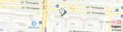 ФРИССОН на карте Екатеринбурга
