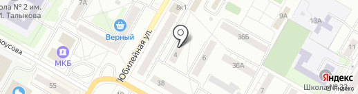 AMI на карте Верхней Пышмы