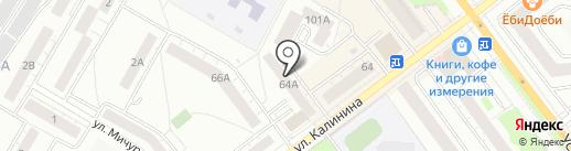 Арт-потолок на карте Верхней Пышмы