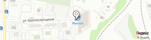 Технология на карте Екатеринбурга