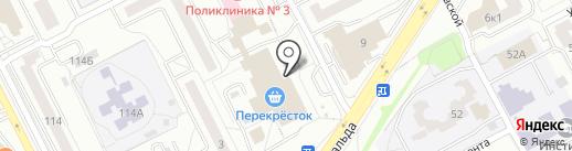 DM GYM на карте Екатеринбурга