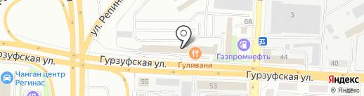 Норд Лайн на карте Екатеринбурга