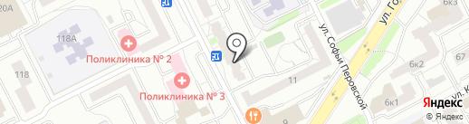 Канцелярский двор на карте Екатеринбурга