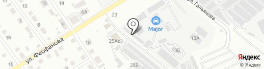 Торгово-сервисный центр на карте Верхней Пышмы