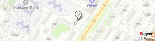Телепорт-Е на карте Екатеринбурга