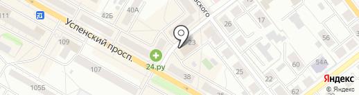 Росгосстрах, ПАО на карте Верхней Пышмы