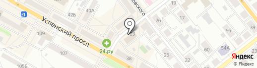 Урал-щебень на карте Верхней Пышмы