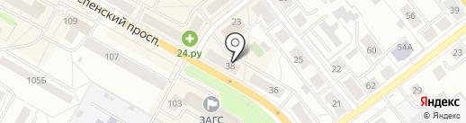 Туристическое агентство на карте Верхней Пышмы