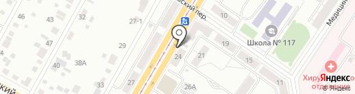 DS24 на карте Екатеринбурга