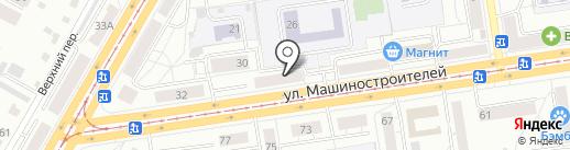 СТРОИТЕЛЬНАЯ КОМПАНИЯ СПЕЦСТРОЙ на карте Екатеринбурга