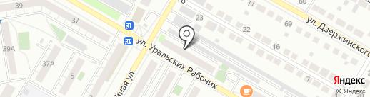 УралИнфоНет на карте Верхней Пышмы