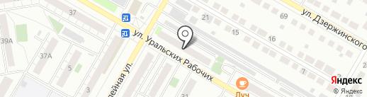 Сервис-Центр 38 на карте Верхней Пышмы