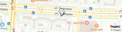 ИНДИГО на карте Екатеринбурга