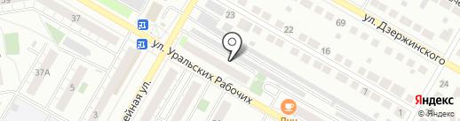 Shock Rock Studio на карте Верхней Пышмы