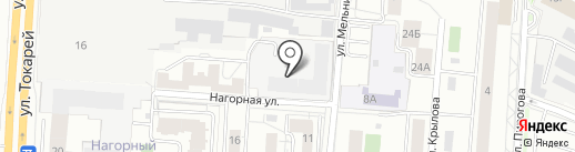 Третий кран на карте Екатеринбурга