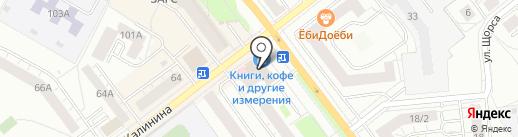 АБМ-сервис на карте Верхней Пышмы