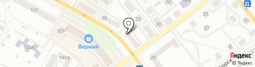 Парикмахерская №1 на карте Верхней Пышмы