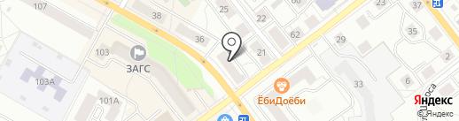 ОфисЛАЙН на карте Верхней Пышмы