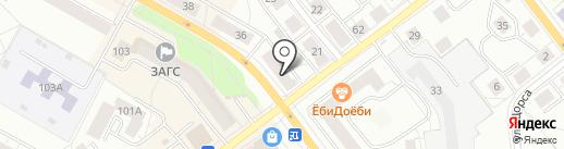 СКБ-банк, ПАО на карте Верхней Пышмы