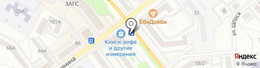 Qiwi на карте Верхней Пышмы