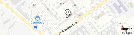 Трикс на карте Верхней Пышмы