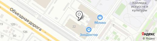 Фасады66 на карте Екатеринбурга